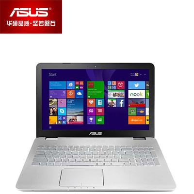 【顺丰包邮】华硕 N551JK4200(高分屏)15.6英吋笔记本 旗舰娱乐 彪悍性能(I5-4200H 4G 1TB GTX850M 4G独显 DVD刻录 背光键盘