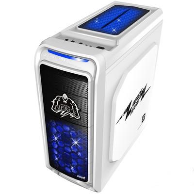 游戏悍将 激战1  支持ATX  MATX  支持 长显卡  侧透  游戏 机箱