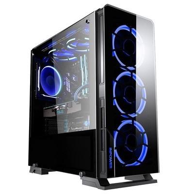 甲骨龙I7 8700/GTX1050TI 4G/DIY组装电脑 游戏组装整机吃鸡游戏主机 游戏整机 台式电脑 I7 7700主机