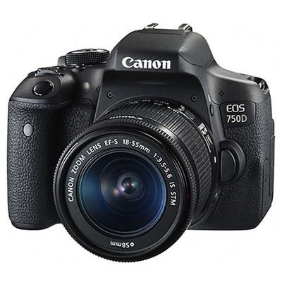 Canon佳能 750D套机(18-135mmSTM)单反相机