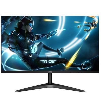 AOC显示器 24B1H液晶屏幕电脑显示器24英寸全高清HDMI接口 广视角 宽屏