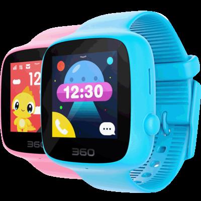 360儿童电话手表 彩色触屏版 防丢防水GPS定位 儿童手机 360儿童手表SE 2代 W608