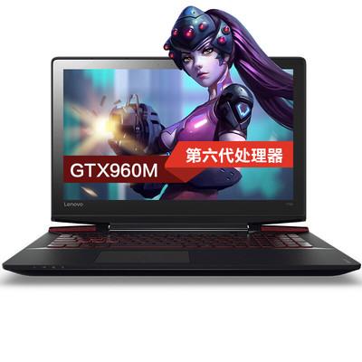 【 顺丰包邮】联想拯救者 Y700-15ISK四核I5 15.6英寸GTX960独显游戏笔记本电脑 I5-6300HQ/4G/1TB/2G独显