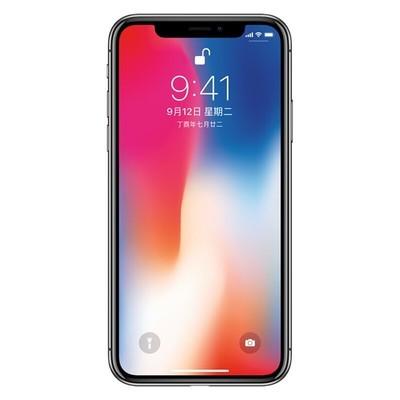 Apple  iPhone X(全网通) 64GB 银色 移动联通电信4G手机
