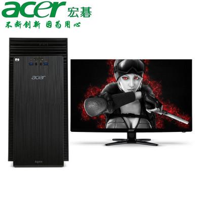 【官方授权 顺丰包邮】Acer ATC705-N90  立式家用台式机 酷睿i5-4460 4GB 500G R5-235-2G独显 预装Windows 8.1 显示器可选配