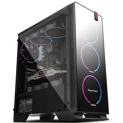 甲骨龙六核i5 8500/GTX1060 6G独显/8G内存/DIY游戏组装电脑 *游戏电脑主机