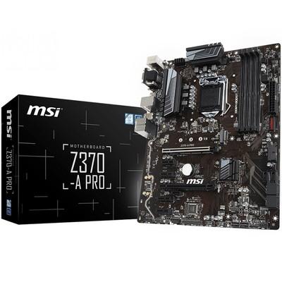MSI/微星 Z370-A PRO 台式机电脑主板 LGA1151 支持8700K 8400