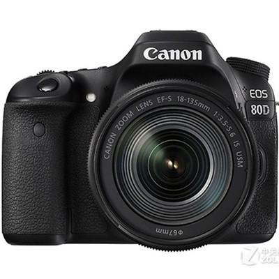 佳能80D (Canon)相机单反 (EF-S 18-135mm IS USM) 套机