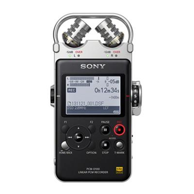 索尼 PCM-D100 索尼(SONY) PCM-D100 数码录音棒 专业DSD录音 32G