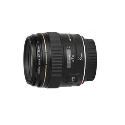 【送UV镜+送清洁套装】佳能 EF 85mm f/1.8 USM  佳能(Canon) EF 85mm f/1.8 USM 远摄定焦镜头 套装 佳能85F1.8光圈镜头