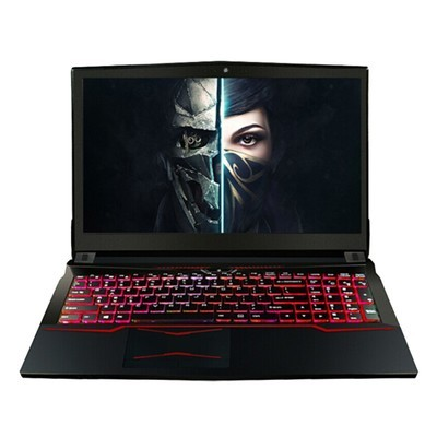 神舟 战神Z7-KP7G1 (i7-7700HQ 1T+128G SSD GTX1060 6G )红光键盘