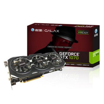 影驰 GeForce GTX 1070骨灰大将导光呼吸灯 炫酷散热器 8G大显存包邮