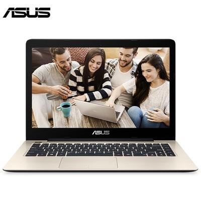 华硕 A480UR7200超薄游戏笔记本电脑14英寸轻薄便携 金色
