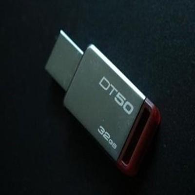 金士顿  DT50 USB3.1闪存盘 紫色(16G)