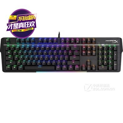 金士顿 HyperX 阿洛伊Elite机械键盘 吃鸡104键盘火星RGB 火星rgb