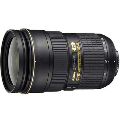 尼康(Nikon) AF-S 24-70mm f/2.8G ED专业变焦,大三元,金圈镜头