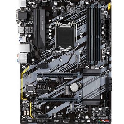 技嘉(GIGABYTE) B360 HD3台式电脑主板 英特尔第八代B360 ATX大板 B360 HD3单主板