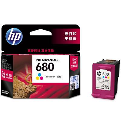 惠普(HP)F6V26AA 680彩色墨盒(适用HP DeskJet2138 3638 3636 3838 4678 4538)