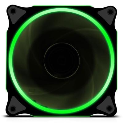 炫光静音环形电脑机箱风扇12cm机箱散热风扇