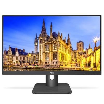AOC 24E1H 23.8英寸 IPS技术广视角 HDMI接口 快拆支架 低蓝光设置 不闪屏技术 窄框 节能认证电脑显示器