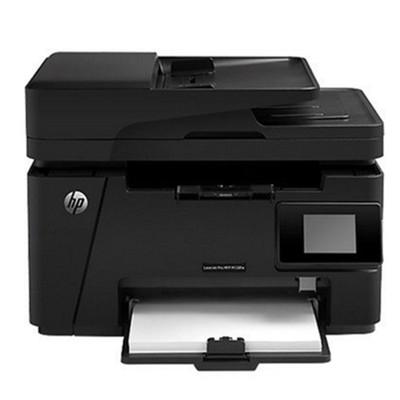 惠普M128fw激光打印复印扫描传真机一体机 有线/无线网络 云打印
