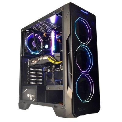 甲骨龙AMD锐龙R7 3700X/RX590 8G独显台式组装电脑游戏主机 网咖主播