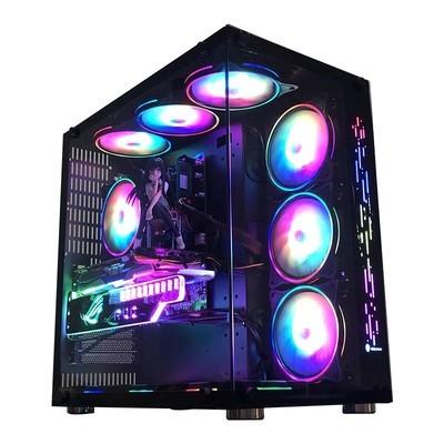 甲骨龙AMD R9 3900X/RX5700 8G独显16G海盗船内存512G固态硬盘DIY主机
