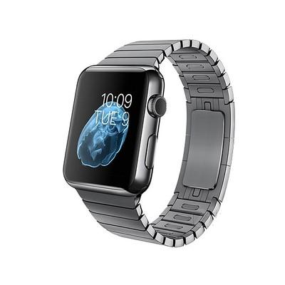 【apple授权专卖 顺丰包邮】标准版Apple Watch 经典款银色/深空灰搭配链式表带,蓝宝石屏+不锈钢表盘(更多款式尺寸下单请留言)