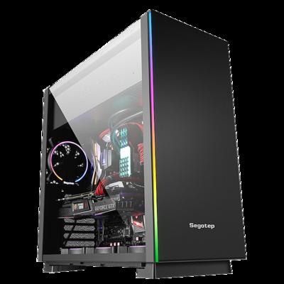 甲骨龙 吃鸡 绝地求生 i7 8700/GTX1070/256G SSD 吃鸡游戏主机 水冷DIY主机DIY 组装机电脑