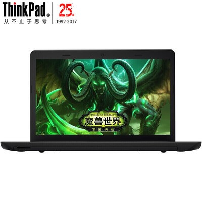 联想(ThinkPad)黑侠E570(20H5A01PCD) 游戏笔记本(i5-7200U 8G 500G+128G SSD GTX950M 2G独显)