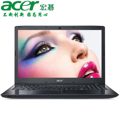 【官方授权 顺丰包邮】Acer E5-575G-51SF 15.6英寸影音本 酷睿I5-7200U 4GB 128GB固态+500GB   GT940MX-2G独显 预装Windows 10