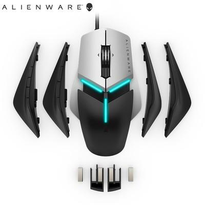 外星人(alienware) AW958游戏鼠标有线电竞鼠标13键 带配重调节