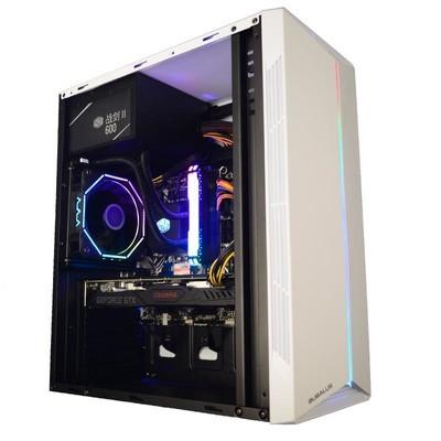 甲骨龙电脑主机 9100F 2G独显 8G内存 240G固态 台式电脑 台式主机