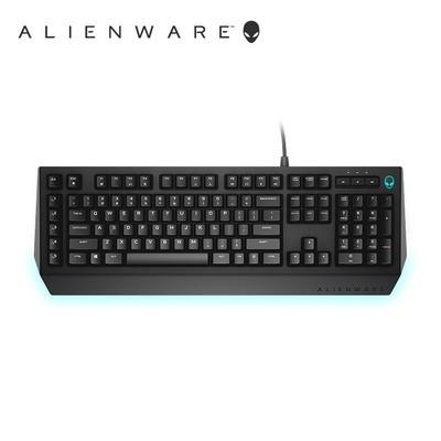 外星人(alienware)AW568 AW768机械键盘AlienFX闪灯茶轴有线 AW568