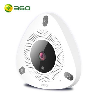 360 智能摄像机 看店宝 网络wifi监控高清摄像头 红外夜视 四分屏监控