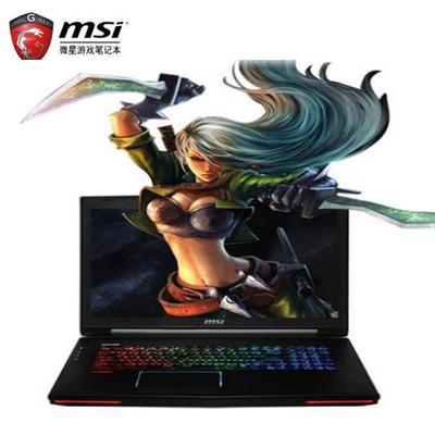 【顺丰包邮】msi微星 GT72S 6QE-487CN 17.3英寸游戏本电脑(i7-6820HK 16G 256GSSD+1T GTX980M 8G独显 多彩背光)风暴英雄特饰
