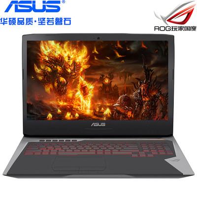 【玩家国度】 华硕 ROG GFX72VL6700(8GB/128GB+1TB)17.3英寸笔记本