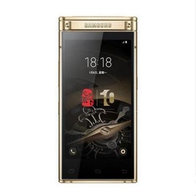 三星 W2018(SM-W2018)6GB+64GB雅金 移动联通电信4G手机 双卡双待
