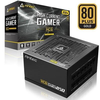 安钛克(Antec)HCG850金牌全模组台式机电脑电源850W全日系电容