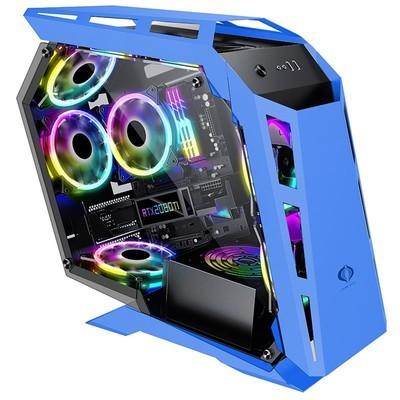 sahara撒哈拉电脑主机性台式机中塔式侧透D900mini异形水冷机箱