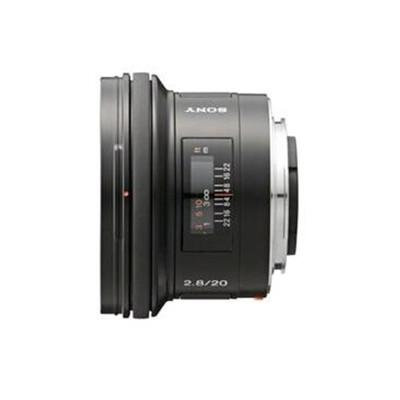 索尼(SONY) E 20mm F2.8 广角定焦镜头(SEL20F28)