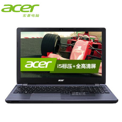 【顺丰包邮】Acer E5-411G-C6H2 主流轻薄娱乐影音本(四核 N2940 4G 500G GT820M-2G独显 LED背光绚丽屏 win8.1 *体验