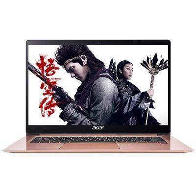 宏碁(acer)蜂鸟Acer SF314-52-59BN 14英寸全金属轻薄商务办公笔记本电脑SF314 I5-8250/ IPS屏 8GB内存 256GB固态硬