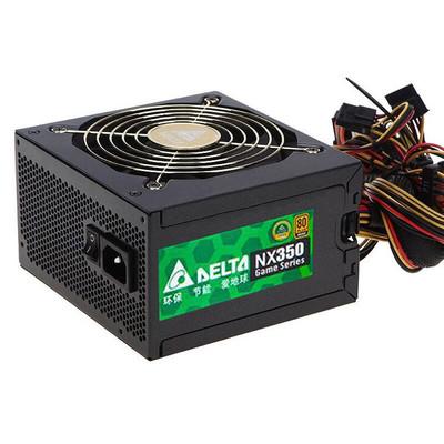 台达 NX350 额定350W 铜牌静音电源 台式主机电脑电源