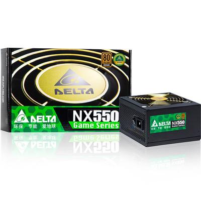 台达 NX550 额定550W铜牌双8PIN CPU供电台式机服务器电源