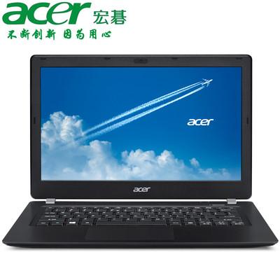 【官方授权 顺丰包邮】Acer TMP236-M-52Z1 13.3英寸商务本 奔腾双核 3805U  4GB 500GB+8GB混合盘 预装Windows 7