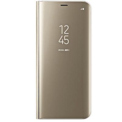 【包邮】三星S8/S8+手机壳立式镜面保护套防摔机壳智能休眠翻盖