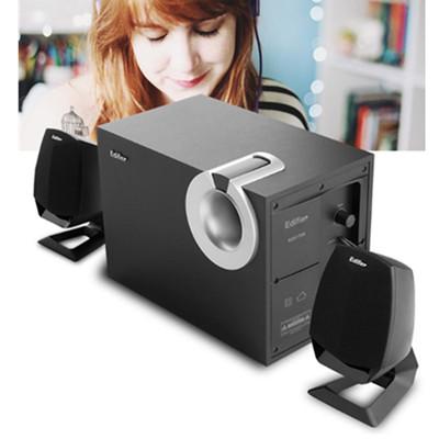 Edifier/漫步者 R201T08台式机电脑音响低音炮影响多媒体音箱