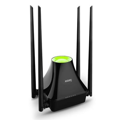 蚂蚁邦 A3C 300M智能无线路由器 四天线WIFI无线穿墙王信号放大器