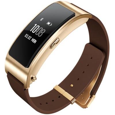 华为手环 B3 商务版蓝牙耳机与智能手环结合+金属机身+触控屏幕